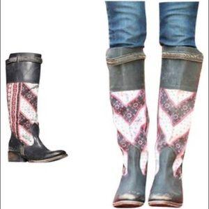 Freebird by Steven Sullivan Leather Boot